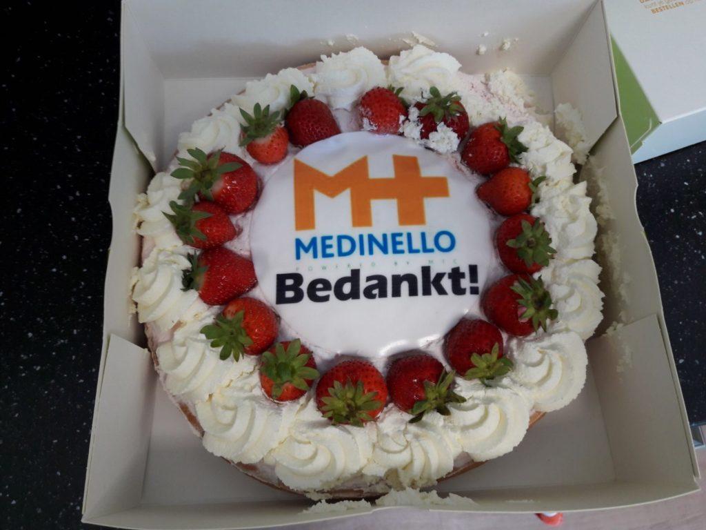 Gelukkig Bedankt Medinello