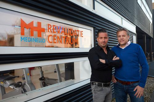 Medinello revalidatie directie L.G. van der Kuijl en drs. J.B. Mertens.