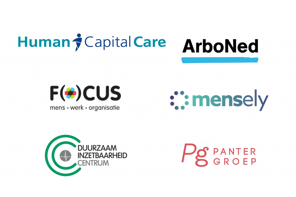 Human capital care logos